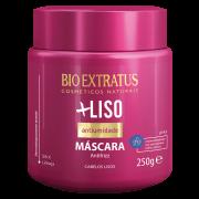 Máscara hidratação e restauração + liso Bio Extratus 250gr