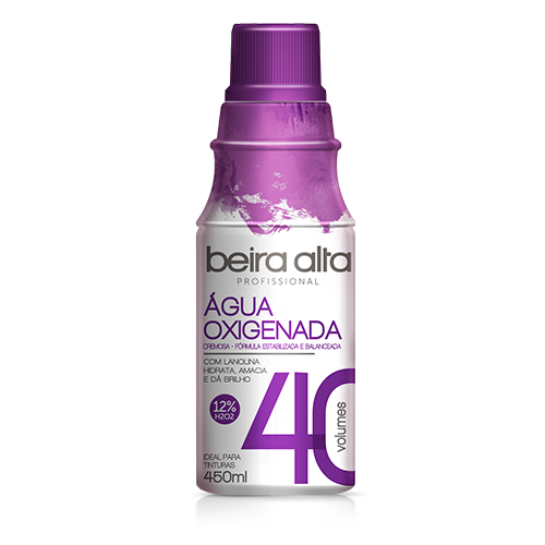 Água Oxigenda Beira Alta Vol. 40 450ml  - LUISA PERFUMARIA E COSMETICOS