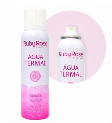 Água Termal Ruby Rose Fragrância De Coco Hb-305 150ML