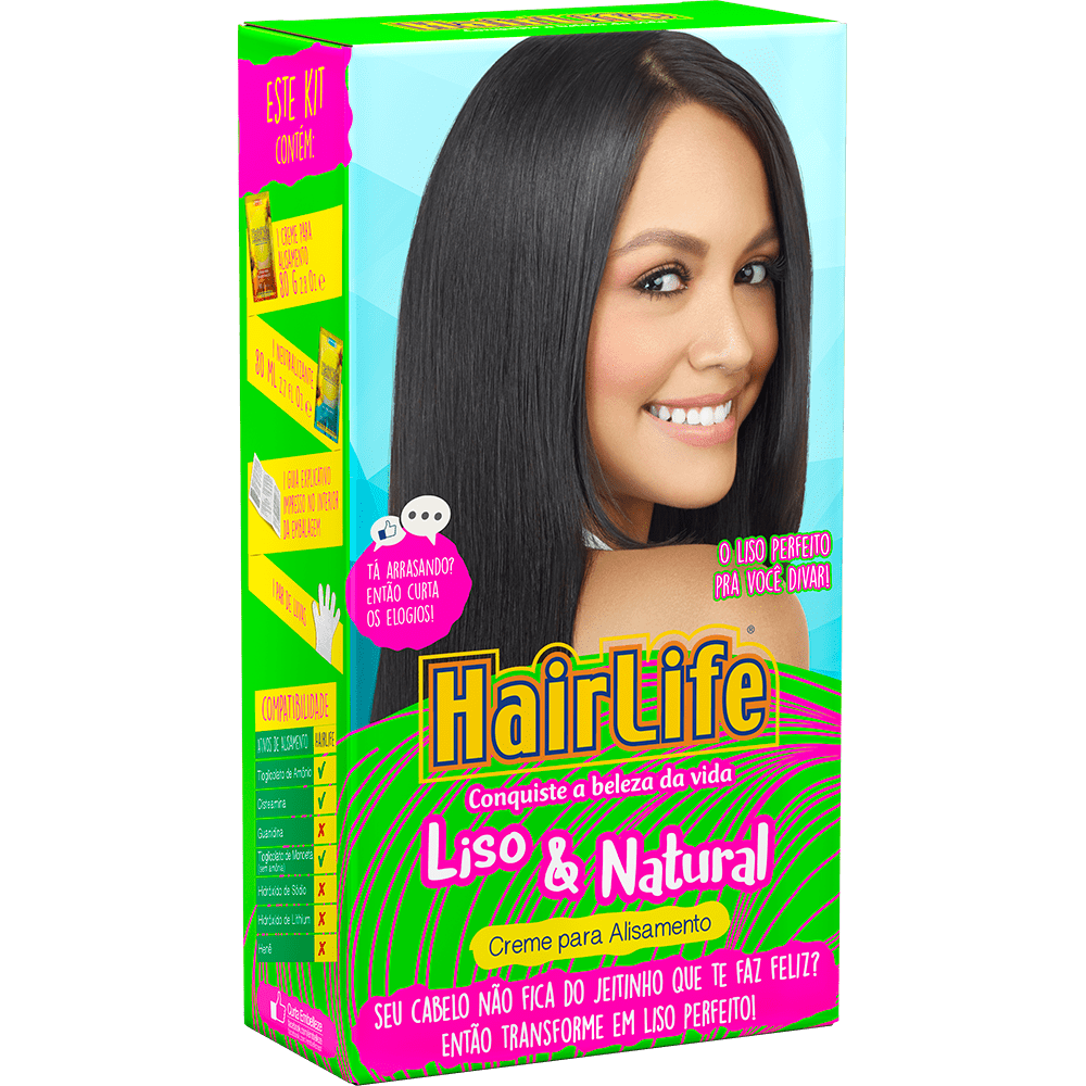 Alisante Hair Life Liso & Natural 160gr