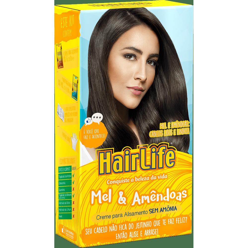 Alisante Hair Life Mel & Amêndoas 160gr