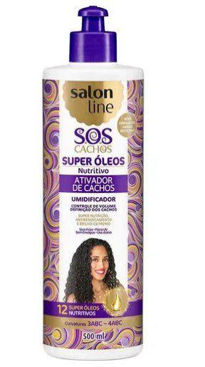 Ativador De Cachos Nutritivo Salon Line - 500ml