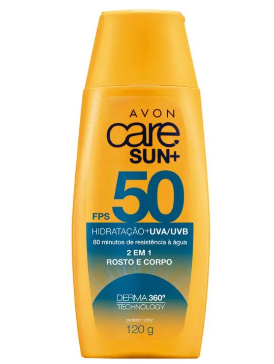 Avon Care Sun Prot Solar 2 em 1 FPS50 120g