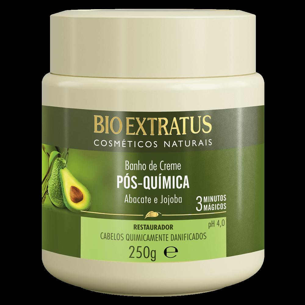 Banho de Creme Pós Quimica Bio Extratus 250gr  - LUISA PERFUMARIA E COSMETICOS