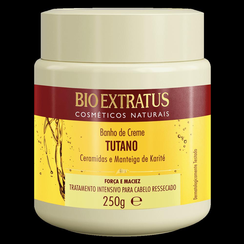 Banho de creme Tutano Bio Extratus 250gr  - LUISA PERFUMARIA E COSMETICOS