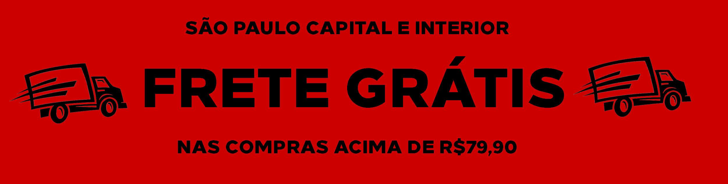 Frete Grátis Estado de São Paulo
