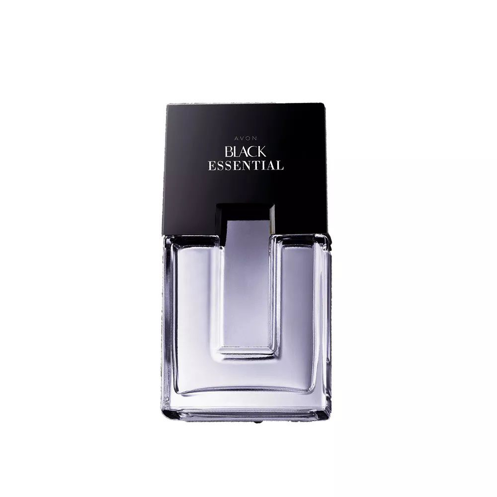 Colonia Avon Black Essential 100ml  - LUISA PERFUMARIA E COSMETICOS