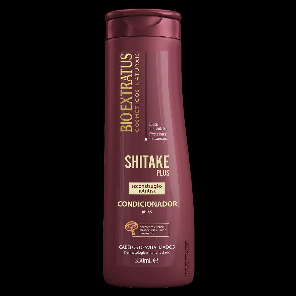 Condicionador Shitake Plus Bio Extratus 350ml  - LUISA PERFUMARIA E COSMETICOS