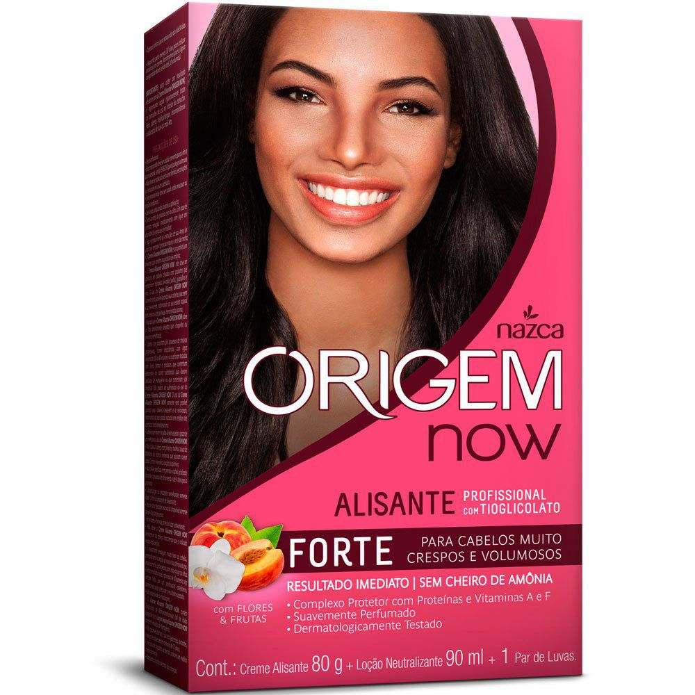 Creme Alisante Origem Now Forte 90g