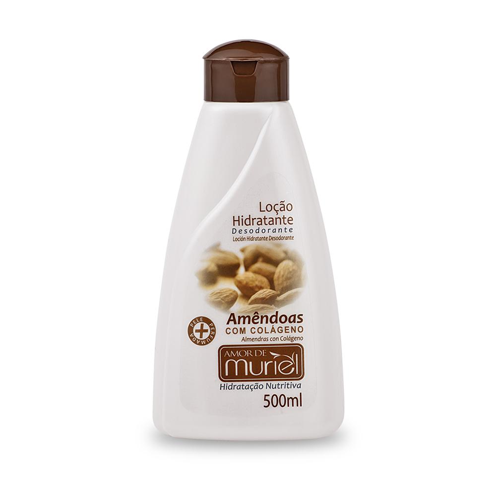 Creme Corporal Ultra Hidratante Amendoa c/ Colágeno Muriel 110gr