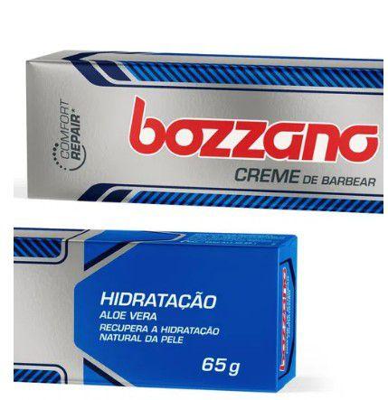 Creme de Barbear Bozzano Aloe Vera Hidratação 65g  - LUISA PERFUMARIA E COSMETICOS