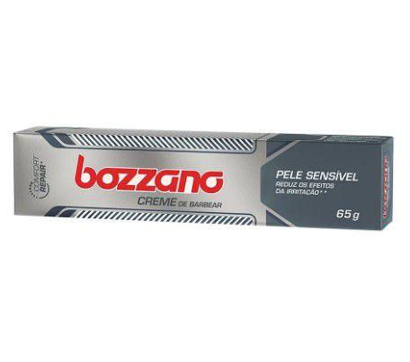 Creme de Barbear Bozzano Pele Sensivel 65g  - LUISA PERFUMARIA E COSMETICOS