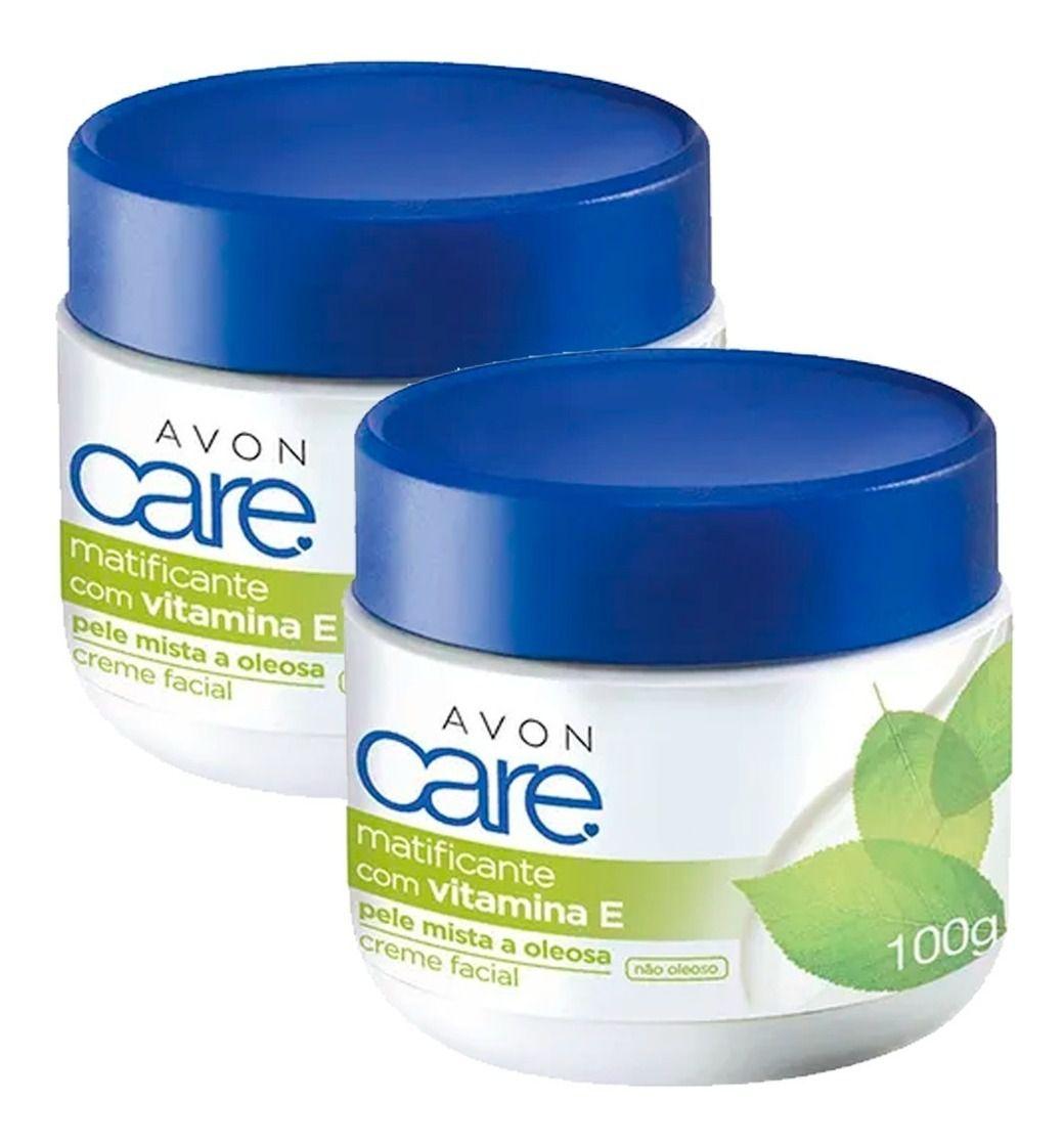 Creme Facial Avon Care Matificante Pele Mista e Oleosa 100g