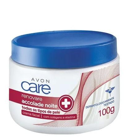 Creme Facial Avon Care Renovare Accolade Noite 100g