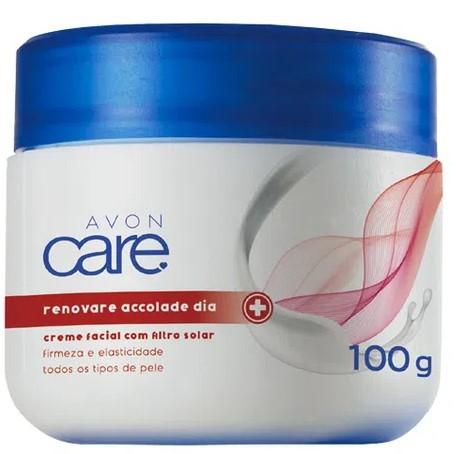 Creme Facial com Filtro Solar Avon Care Renovare Accolade Dia 100g  - LUISA PERFUMARIA E COSMETICOS