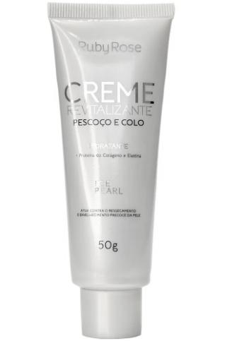 Creme Revitalizante Ice Pearl Pescoço E Colo Ruby Rose (Cod. HB421 ) 50g  - LUISA PERFUMARIA E COSMETICOS