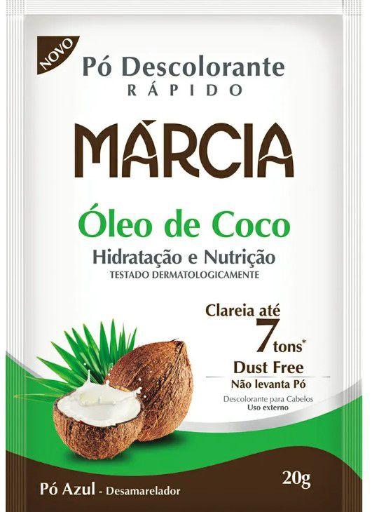 DESCOLORANTE MARCIA 20g OLEO COCO