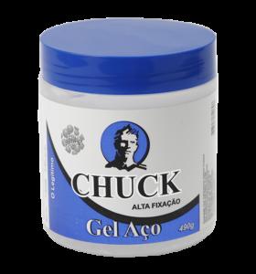 Gel Aço Chuck 490g  - LUISA PERFUMARIA E COSMETICOS