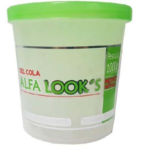 Gel Cola Alfa Looks 1kg