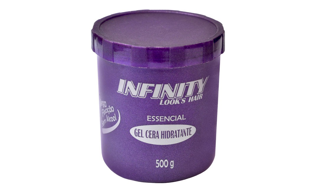 Gel Cola Infinity Looks 500g  - LUISA PERFUMARIA E COSMETICOS