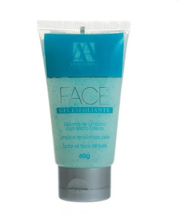 Gel Esfoliante Face Anaconda 60g