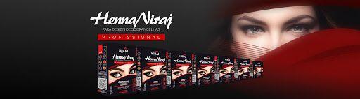 Henna Sobrancelha Niraj Indian 3,5g + 20ml de fixador