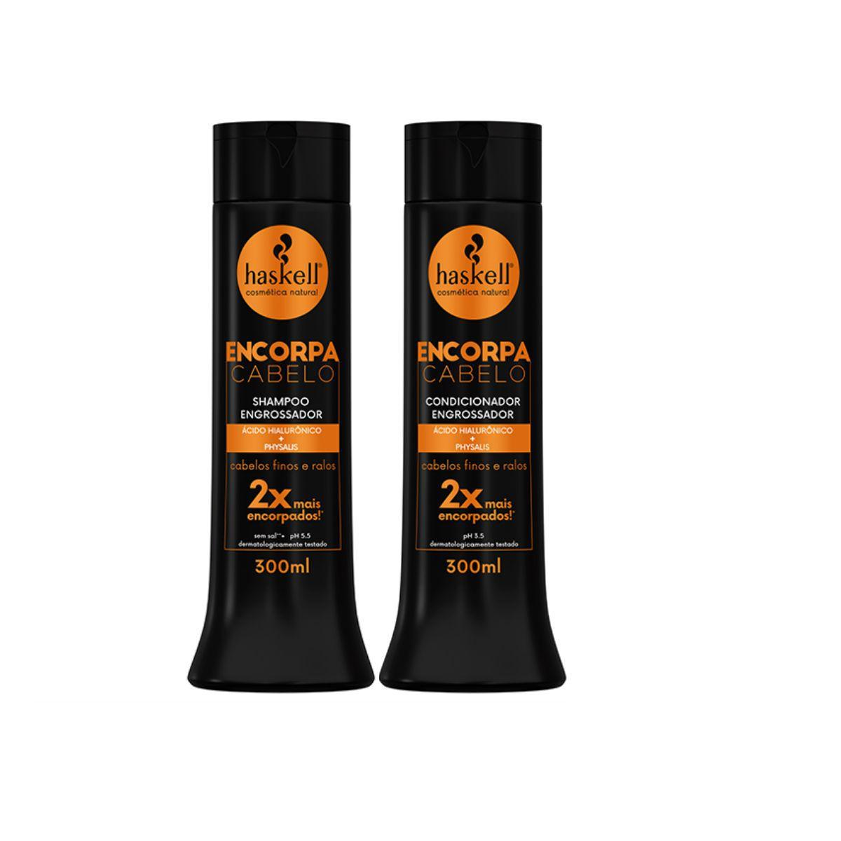 Kit Encorpa Cabelo Haskell ( 2 itens )