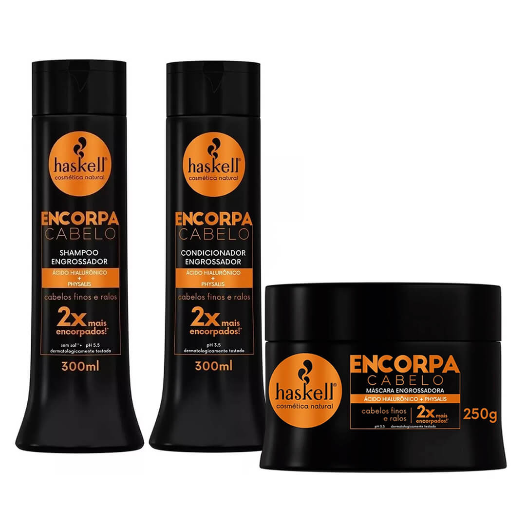 Kit Encorpa Cabelo Haskell ( 3 itens )