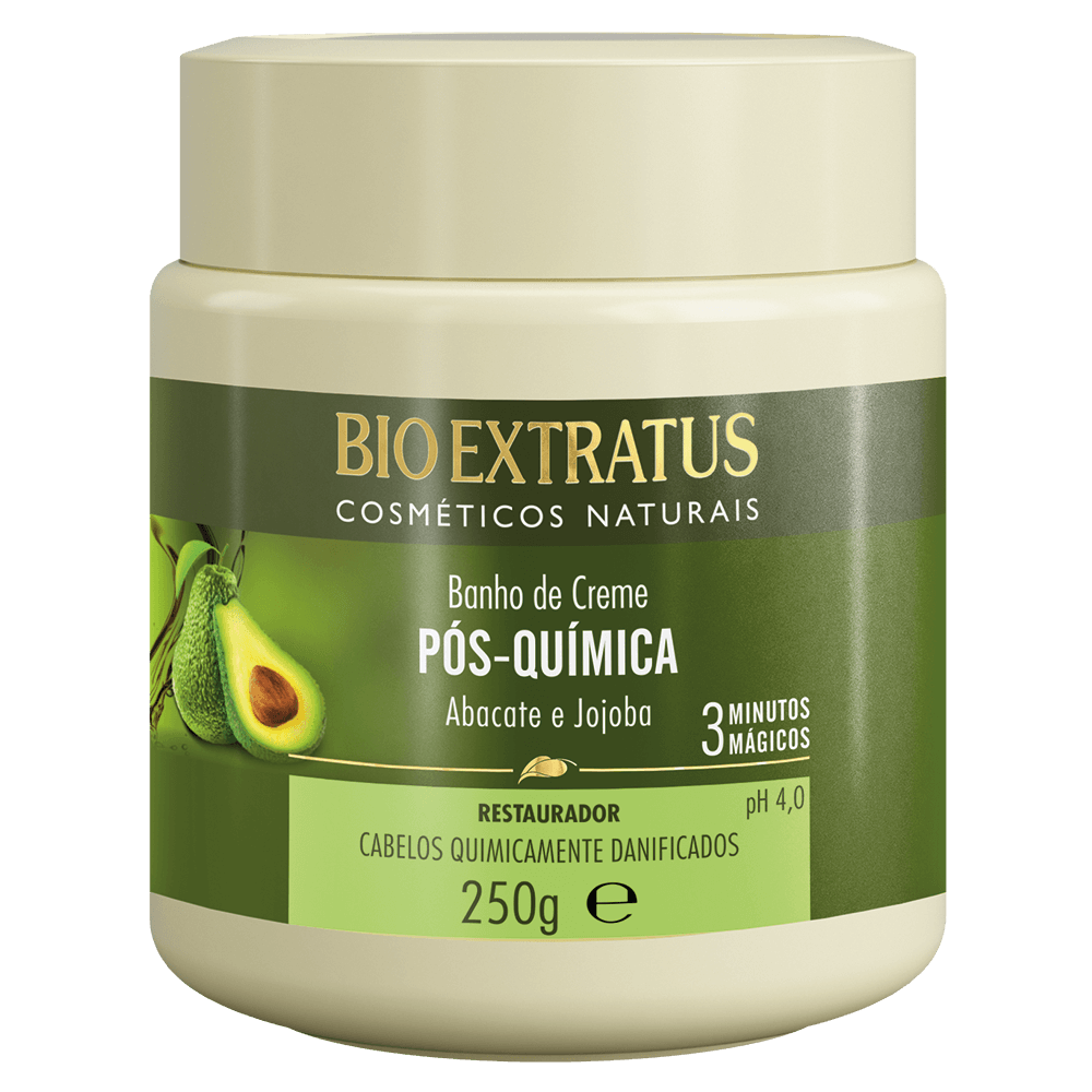 Kit Pos Quimica Bio Extratus ( 4 itens)