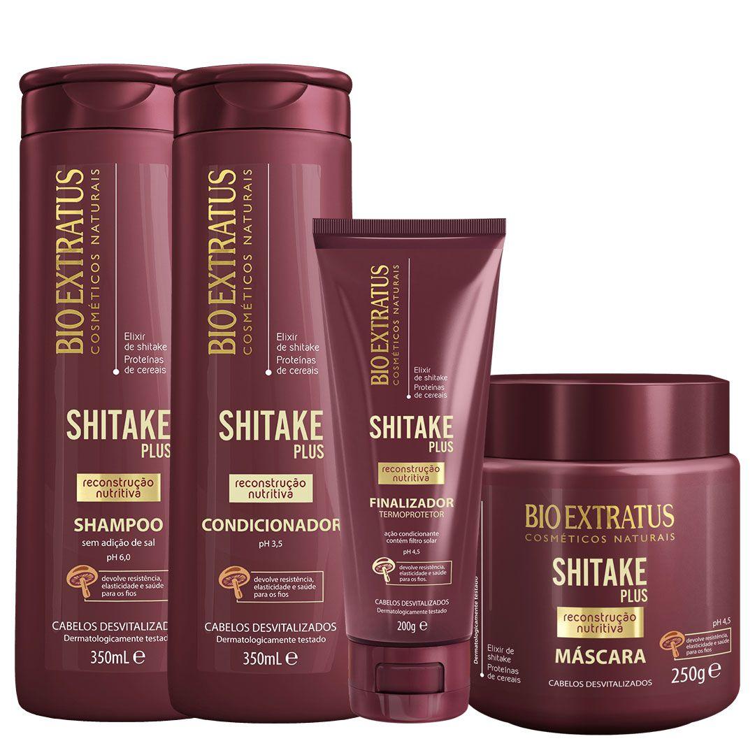 Kit Shitake Bio Extratus ( 4 itens)