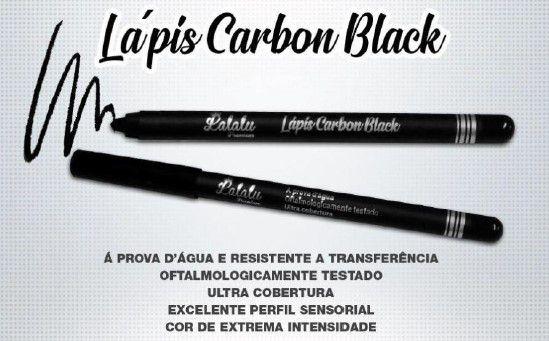 Lapis Carbon Black Lalalu Premium  - LUISA PERFUMARIA E COSMETICOS