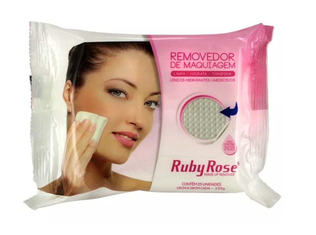 Lenço Demaquilante Ruby Rose C/25