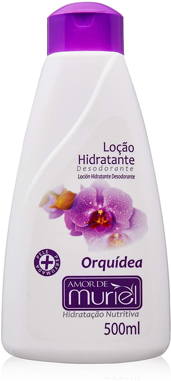 Loção Hidrat Desod. Orquídea Muriel 500ml  - LUISA PERFUMARIA E COSMETICOS