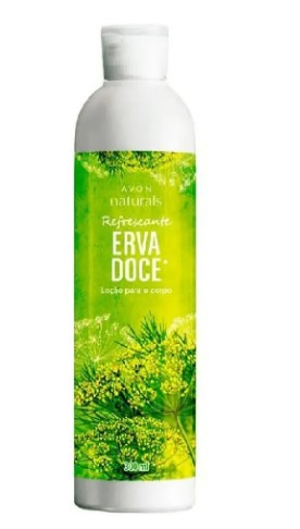 Loção para o Corpo Avon Naturals Erva Doce 300ml  - LUISA PERFUMARIA E COSMETICOS