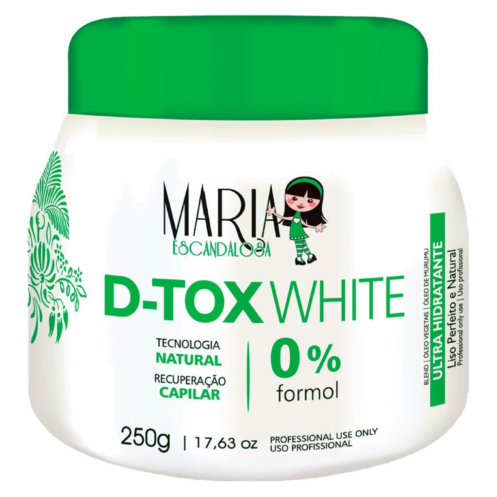 Maria Escandalosa Botox White Sem Formol 250g
