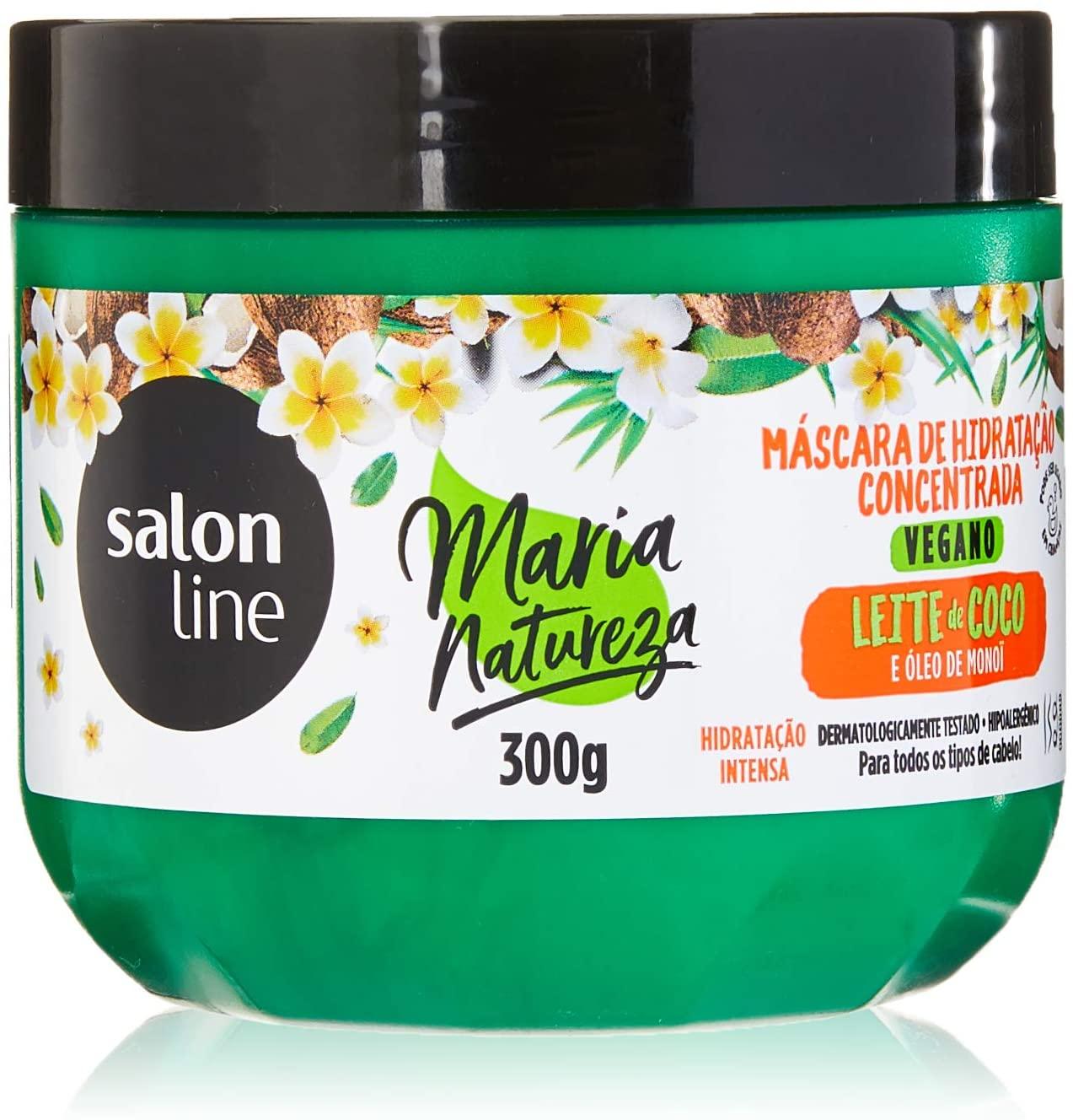 Máscara Concentrada Maria Natureza Leite de Coco Hidratação 300Gr