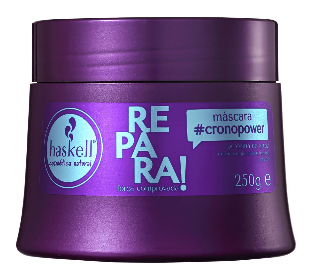 Mascara #Cronopower Repara! Haskell 250g  - LUISA PERFUMARIA E COSMETICOS