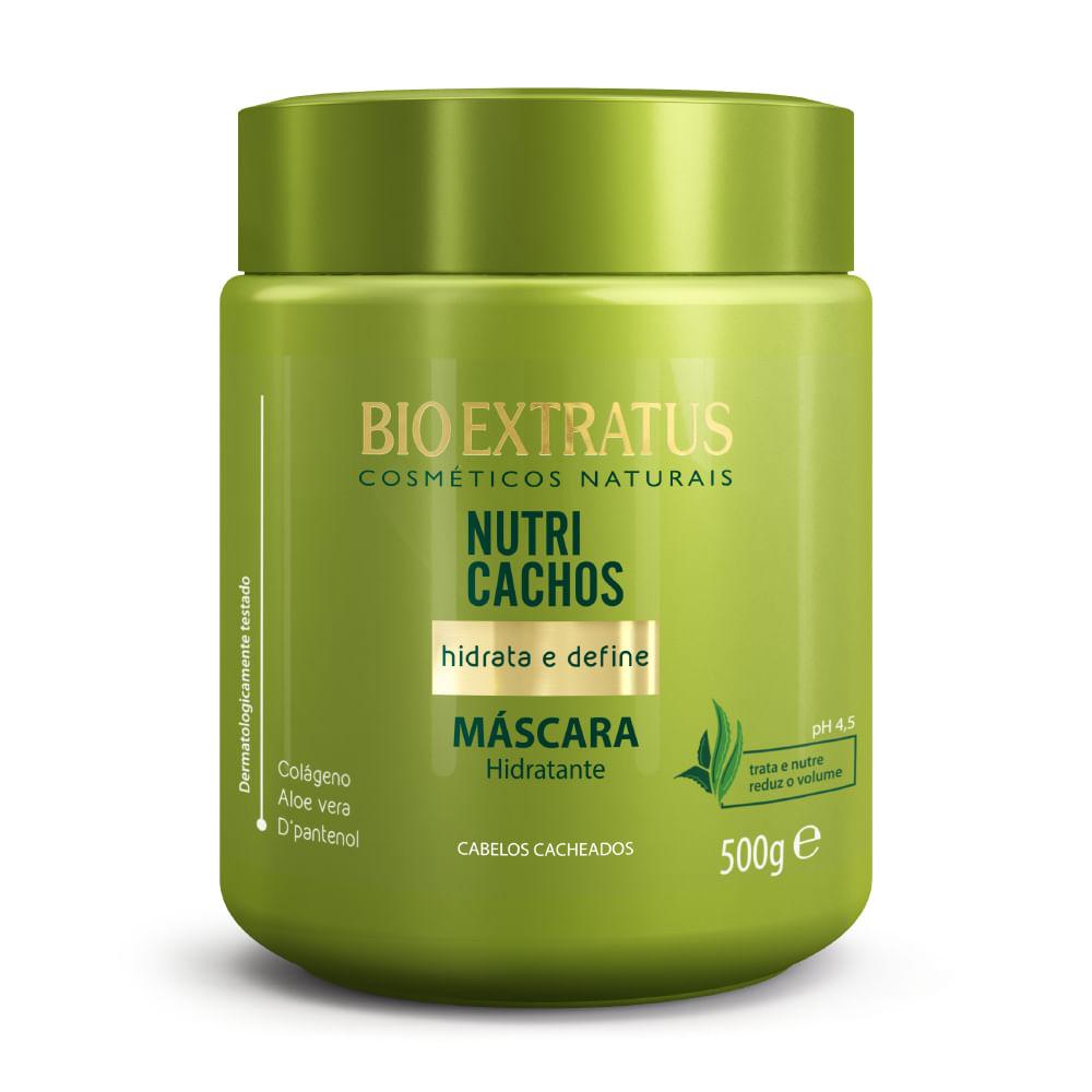 Máscara Hidratante Nutri Cachos Bio Extratus 500gr