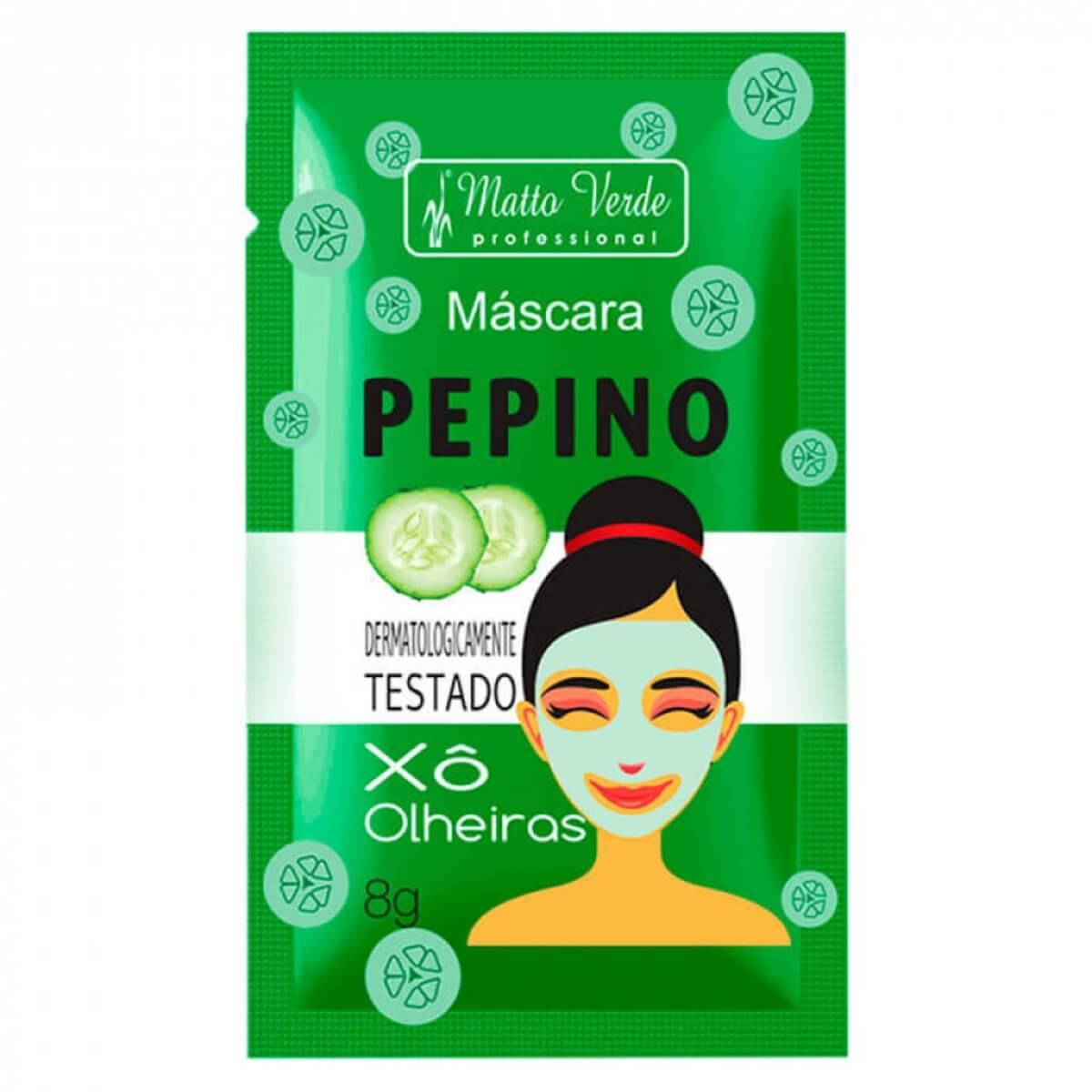 Mascara Pepino Xo Olheiras Matto Verde 8gr