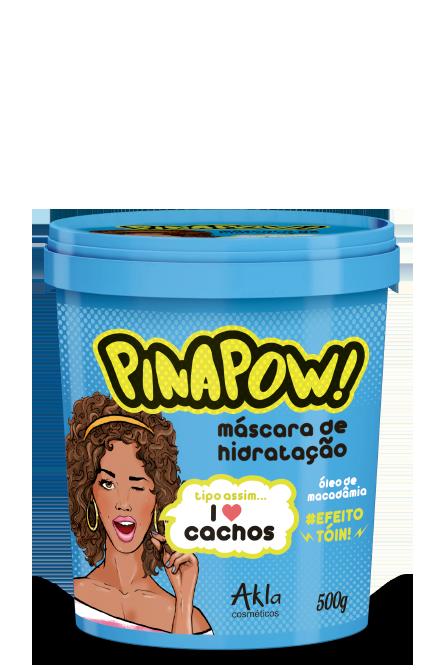 Mascara Pinapow Cachos 500gr  - LUISA PERFUMARIA E COSMETICOS