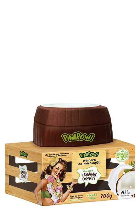 Mascara Pinapow Coconut 700gr