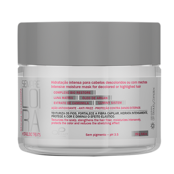 Máscara Restauradora Blond Treats OpBeauty 250gr
