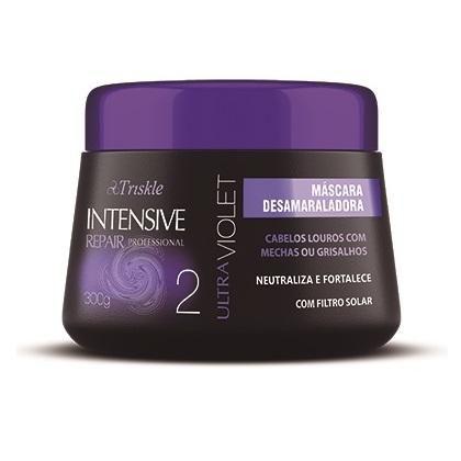 Mascara Ultra Violet Intensive Repair Triskle 300G  - LUISA PERFUMARIA E COSMETICOS