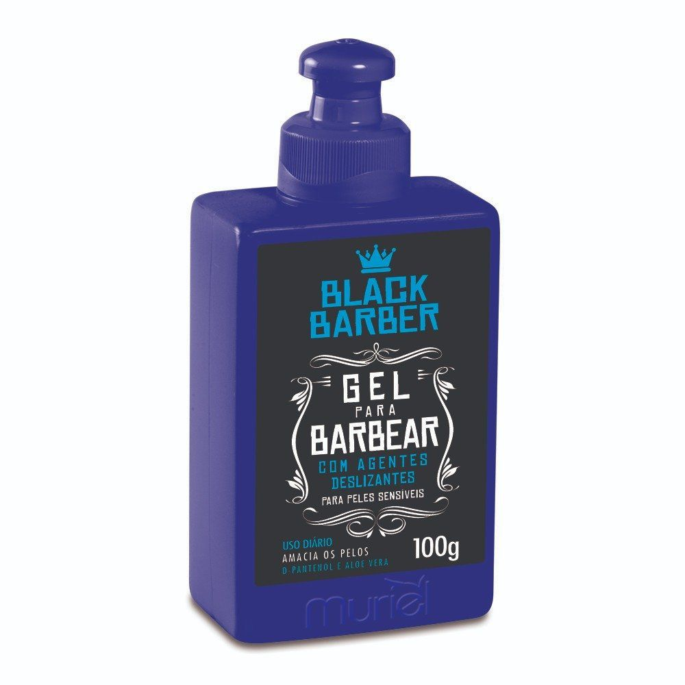 Muriel Black Barber Gel para Barbear 100g