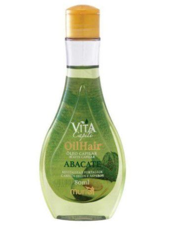 Oleo Capilar Muriel Vita Capili Abacate 80ml  - LUISA PERFUMARIA E COSMETICOS