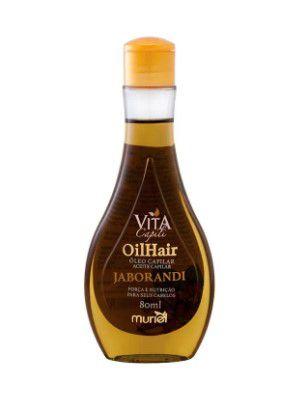 Oleo Capilar Muriel Vita Capili Jaborandi 80ml  - LUISA PERFUMARIA E COSMETICOS
