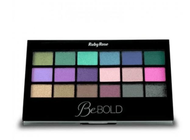 Paleta de Sombras Be Bold HB 9919 Ruby Rose