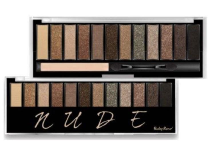 Paleta de Sombras Nude HB 9911 Ruby Rose