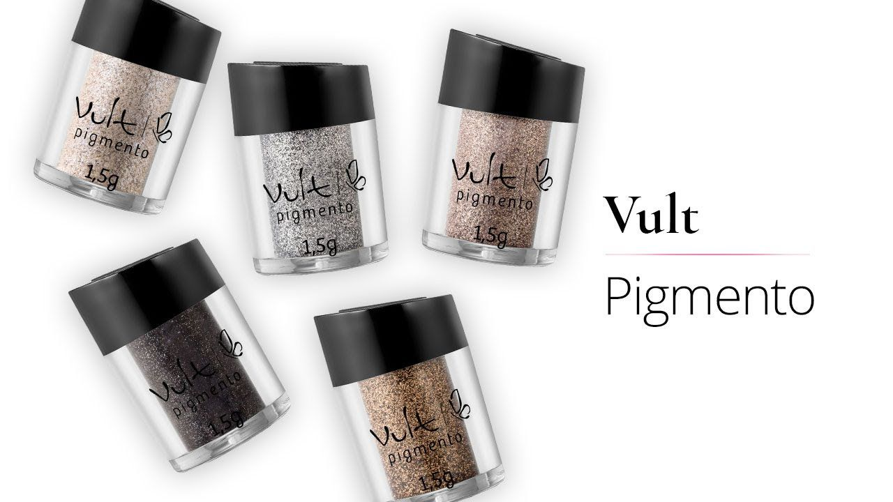 Pigmento Vult  - LUISA PERFUMARIA E COSMETICOS