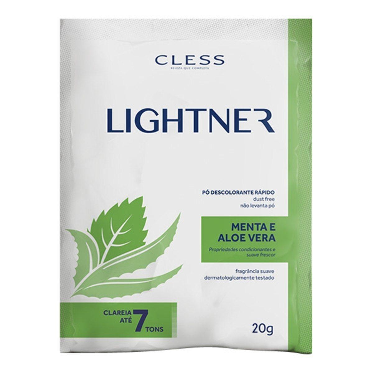 Pó Descolorante Lightner Menta Aloe Vera 20gr